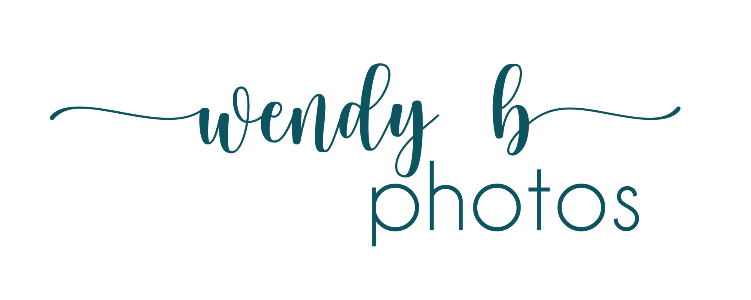 wendy b photos logo